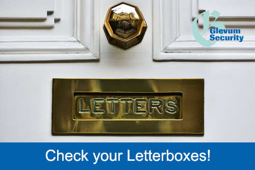 Check your Letterboxes!